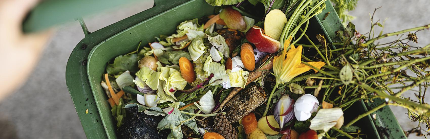 Rohstoffe für Kompost die geeignet sind für die Kompostieranlagen der Qualikomp AG in Emmen