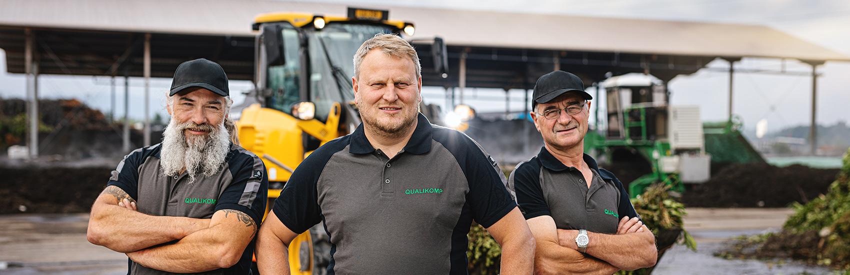 Das Team der Qualikomp AG in Emmen